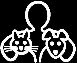 Logo wit. Dierenarts Bergen op Zoom