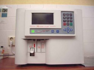 Medonic bloedanalyse apparatuur