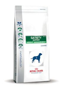 royal cain satiety support dieet hond